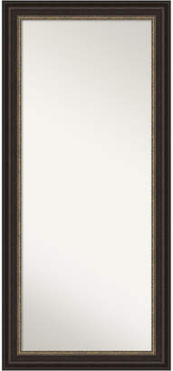 "Amanti Art Impact Framed Floor/Leaner Full Length Mirror, 30.25"" x 66.25"""
