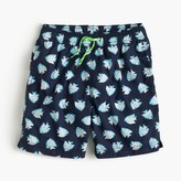 J.Crew Boys' board short in glowfish
