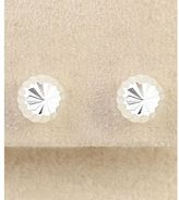 Dillard's sterling collection 6mm ball stud earrings
