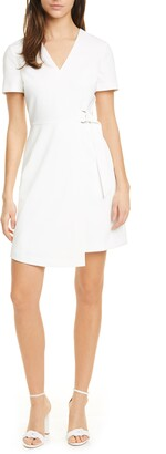 Ted Baker Marimel Wrap Front Short Sleeve Dress