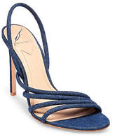 B Brian Atwood Fifi Denim Sandals