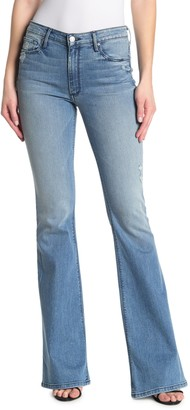 Black Orchid Mia Skinny Flared Jeans