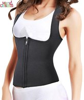Sauna Body Suit - Ursexyly Shoulder Waist Trainer Hot Sweat Shirt for Fitness (L, )