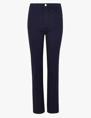 Per Una Per UnaMarks and Spencer Sateen Roma Rise Straight Leg Jeans