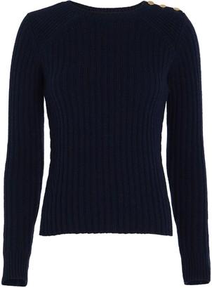 Intermix Beatrix Ribbed Wool-Cashmere Sweater