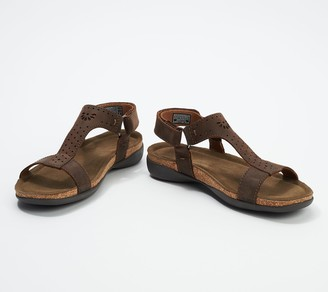 Keen Leather T-Strap Sandals - Kaci Ana