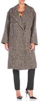 Ter Et Bantine Tweed Dropped Shoulder Coat