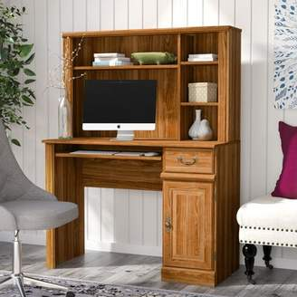 Andover Mills Brody Desk with Hutch