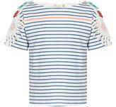 Billieblush Girls Fringed T-Shirt