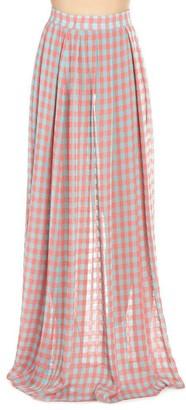 Ultràchic Ultrachic Checked Maxi Skirt