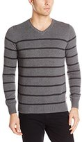 Levi's Men's Winger Striped V-Neck Sweater