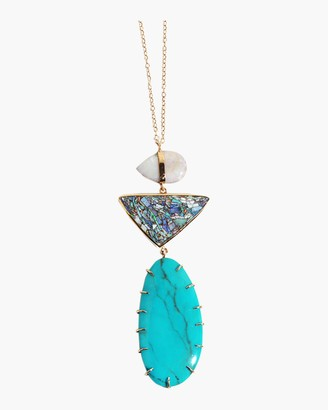 Melissa Joy Manning Australia Black Opal Necklace