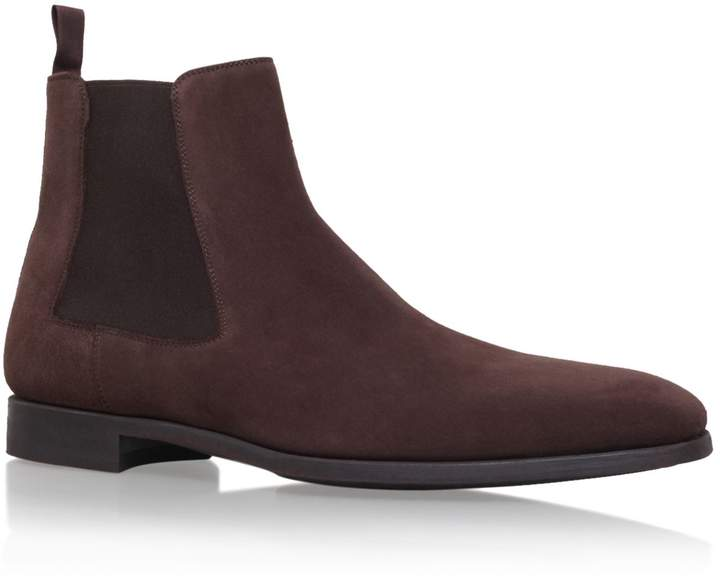 Magnanni Suede Chelsea Boot