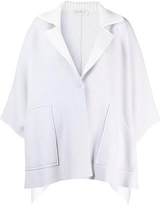 Bruno Manetti Asymmetric Cape Jacket