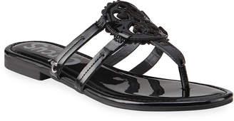 Sam Edelman Clara Medallion Slide Thong Sandals
