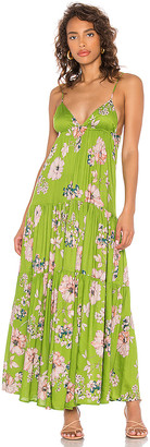 Sun Becomes Her Solstice Trapeze Maxi Dress