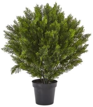 Nearly Natural 3' Cedar Indoor/Outdoor Artificial Bush