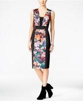 Rachel Roy Floral-Print Sheath Dress
