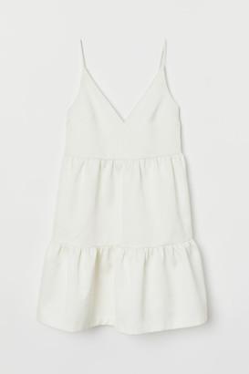 H&M Knee-length wedding dress