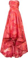 Marchesa floral jacquard gown - women - Acetate - 0