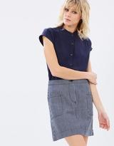 Vanishing Elephant Mid-Thigh Skirt
