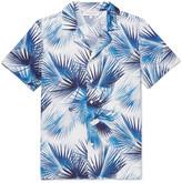 Orlebar Brown - Travis Camp-collar Printed Cotton-poplin Shirt
