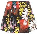 Marni Printed denim miniskirt