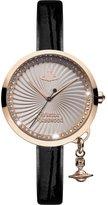 Vivienne Westwood Women's VV139RSBK Analog Display Swiss Quartz Pink Watch