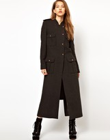 Sophia Kokosalaki Kore by Recycled Wool Trench