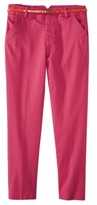 Merona Women's Tailored Ankle Pant w/Belt (Fit 2) - Assorted Colors
