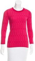 Tory Burch Knit Long Sleeve Sweater