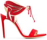 Casadei embellished lace-up sandals