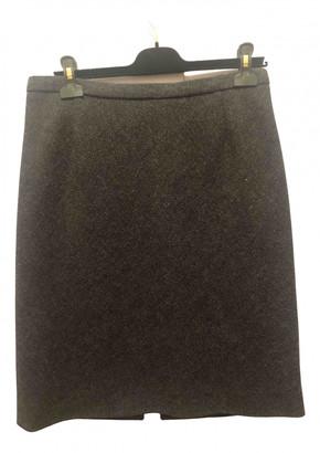Louis Vuitton Grey Wool Skirts