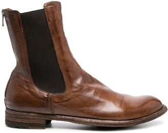 Officine Creative Lexikon 73 leather boots