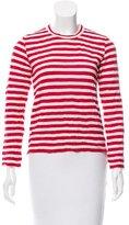 Comme des Garcons Striped Knit Top