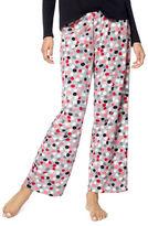 Hue Plus Twinkie Dotted Pajama Pant