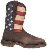Durango Men's American Flag Square Steel Toe Western Boots, DB020 11M