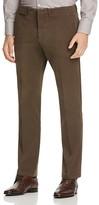 Canali Stretch Twill Classic Fit Trousers