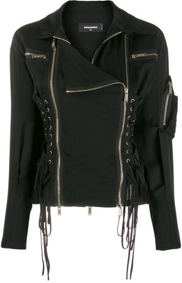 DSQUARED2 Two-Way Zip Jacket