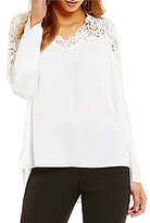 Antonio Melani Enzo Embroidered Blouse