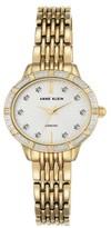 Anne Klein Women's Oval Diamond Bracelet Watch, 28Mm