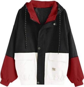 KaloryWee Autumn Winter 2018 Sale Women Long Sleeve Corduroy Patchwork Oversize Jacket Windbreaker Coat Overcoat