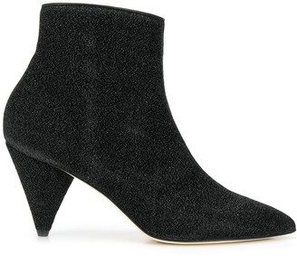 Polly Plume pointed ankle boots