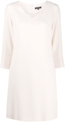 Antonelli V-Neck Mini Dress
