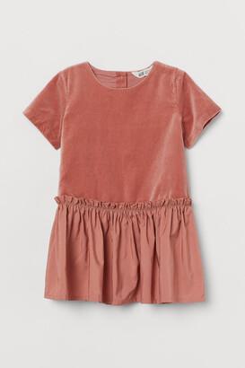 H&M Velvet Dress - Pink