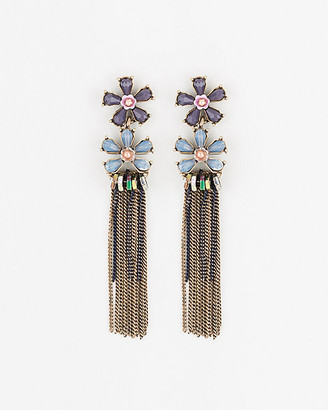Le Château Floral Gem Earrings