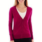 WORTHINGTON Worthington Long-Sleeve Cardigan Sweater