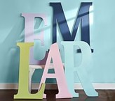Pottery Barn Kids Harper Painted Letter, A