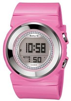 Casio Women's Baby-G BGD102-4 Pink Resin Quartz Watch with Dial