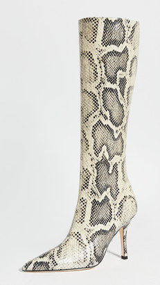 Paris Texas Python Print Mama Boots